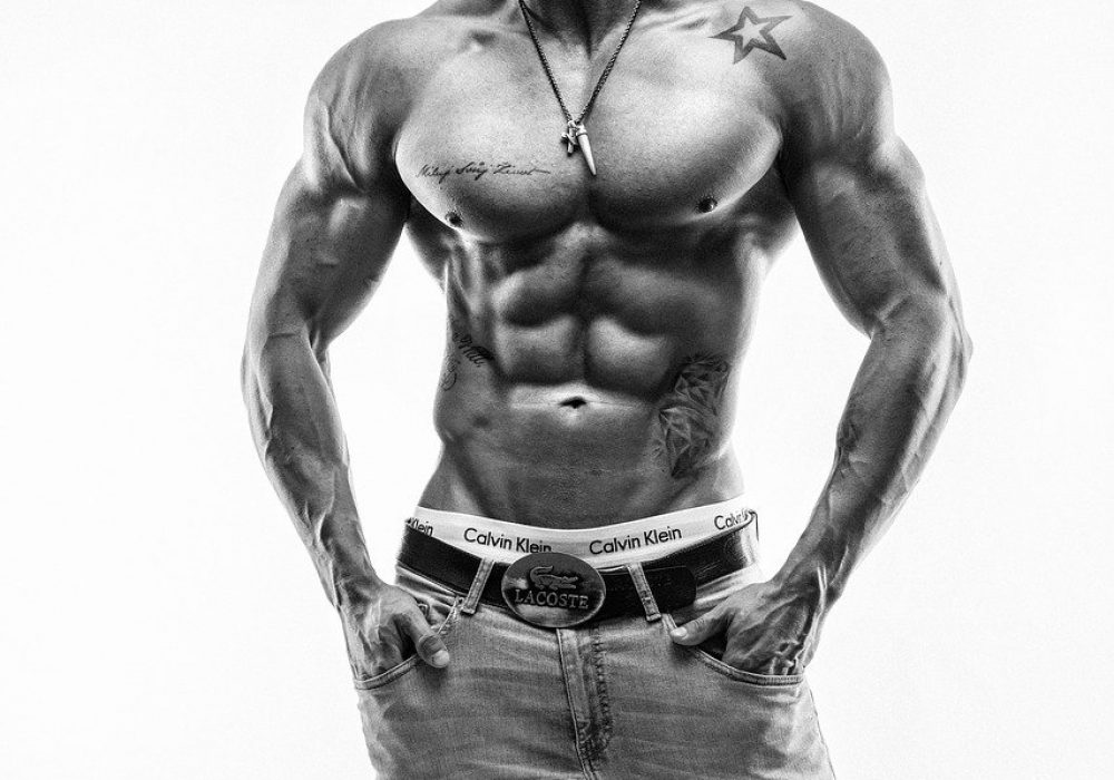 fitness, model, muscles